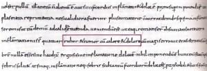 Codice Egizio riportante i quattro segni dell' infiammazione