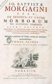 De Sedibus et causis morborum per anatomen indagatis