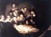 Rembrant:lezione di anatomia del dottor Tulp